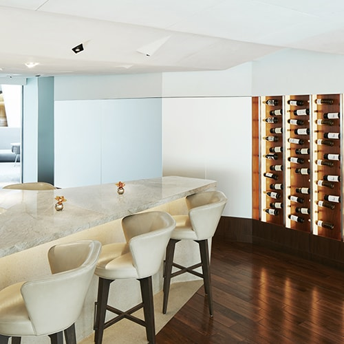 ATRIO Wine Bar | Restaurant - Wine Wall